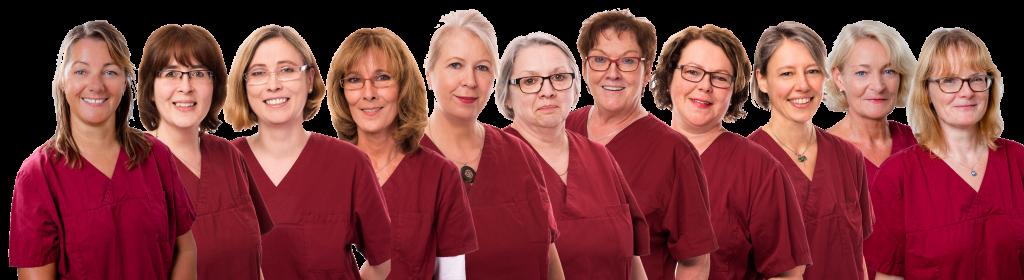 Ein eingespieltes Dialyseteam